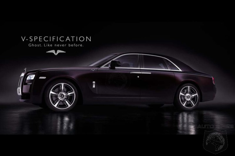 Rolls-Royce Delivers The Details On The All-New Ghost V-Spec